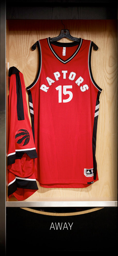 Raptors 2015/16 Uniforms
