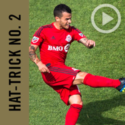 Sebastian Giovinco's Second Hat-Trick