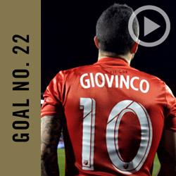 Sebastian Giovinco Goal No. 22