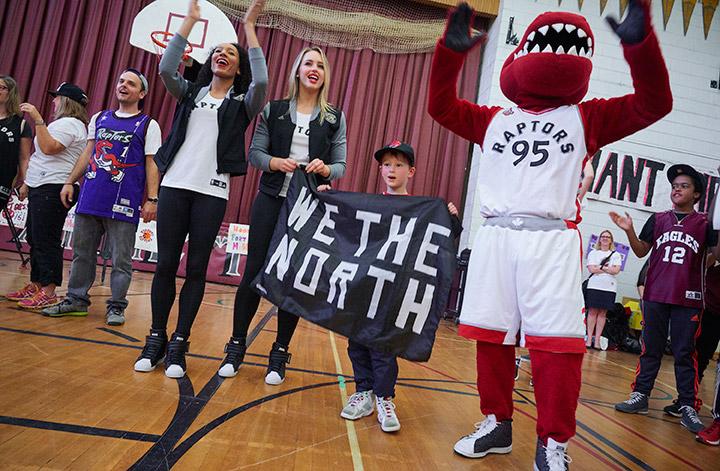 Annette Public School Raptors Pep Rally