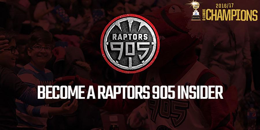 Become A Raptors 905 Insider